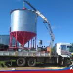 Montaje silos aéreos en Chacinados Rodriguez